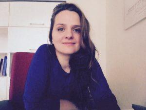 Sonia Nieśpiałowska-Owczarek absolwentka Animacji Kultury Instytutu Kultury Polskiej Uniwersytetu Warszawskiego