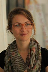 Olga Chromik absolwentka Animacji Kultury Instytutu Kultury Polskiej Uniwersytetu Warszawskiego