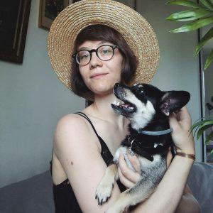 Miriam Kołak-Pleśniak absolwentka Animacji Kultury Instytutu Kultury Polskiej Uniwersytetu Warszawskiego